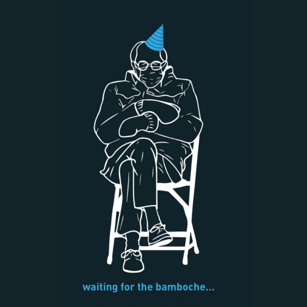 Bernie is waiting for the Bamboche Noir